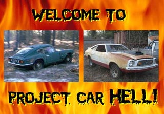 Illustration for article titled Project Car Hell, South Carolina Edition: GT6 or 429 Mustang II?