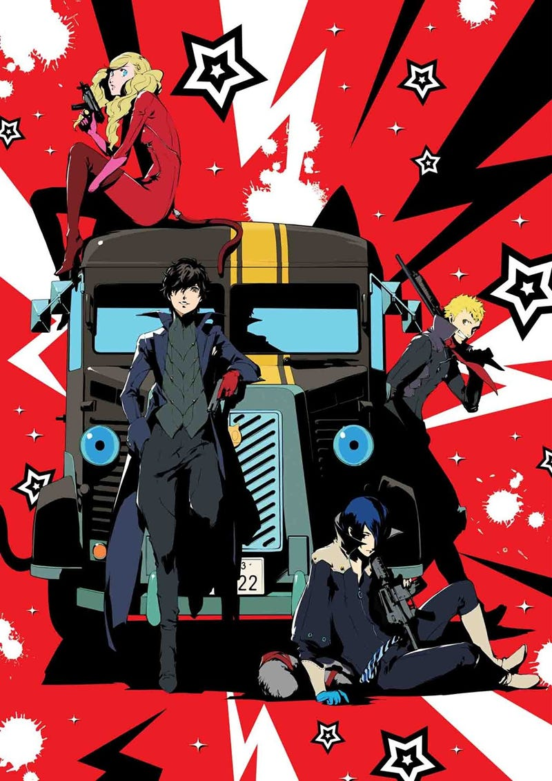 Art The Art Of Persona 5