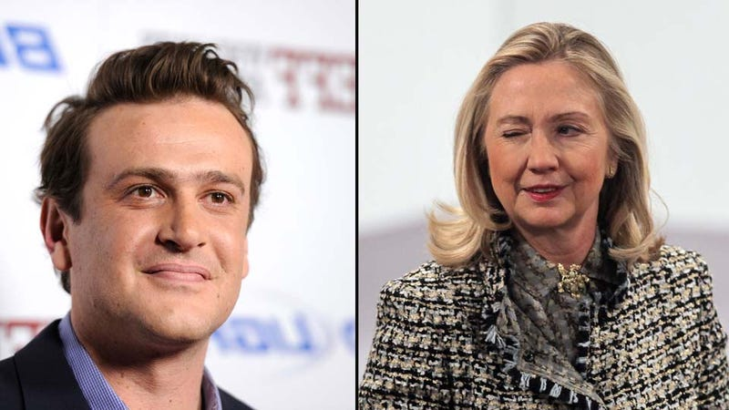 Illustration for article titled Jason Segel Might Be Good Enough for You, But He's Not Good Enough for Hillary Clinton
