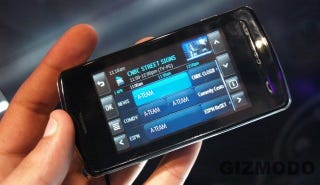 Hands-on With AT&T's LG VU Multimedia Phone (AT&T Mobile TV