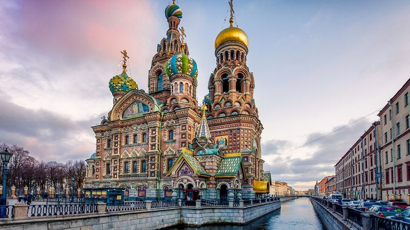 Cathedral in St. Petersburg
