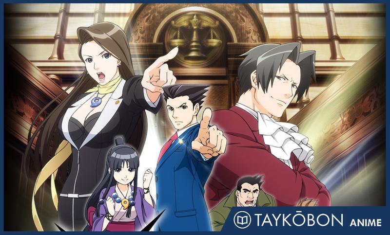 Illustration for article titled Phoenix Wright: Ace Attorney (Gyakuten Saiban) - Anime Series Blog [2 / -]