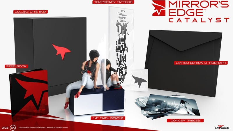 Illustration for article titled Mirror's Edge: Catalyst Collector's Edition