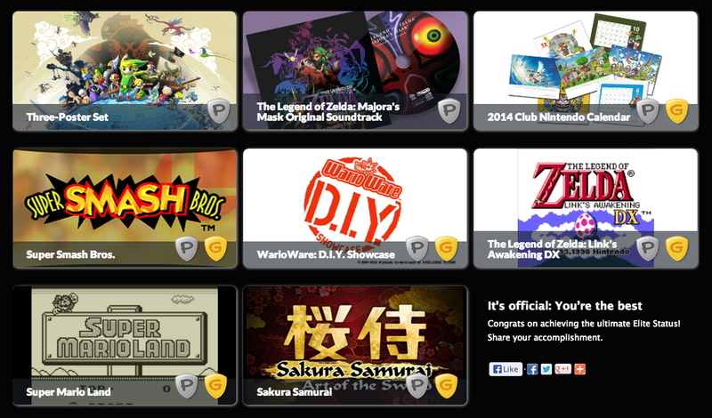 Illustration for article titled It's Official: You're the Best - Club Nintendo Awards Announced