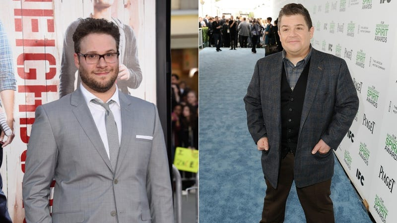 Illustration for article titled Patton Oswalt Welcomes Seth Rogen Into the Super Cool Clickbait Club