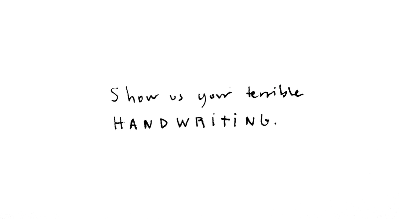 Illustration for article titled Show Us Your Handwriting