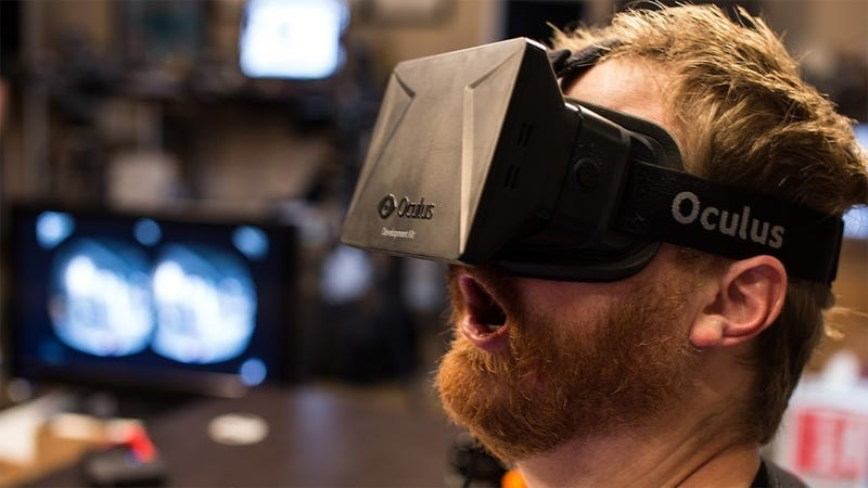 Illustration for article titled Facebook is Buying Oculus Because It Needs a Sci-Fi Toy