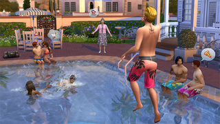Illustration for article titled Swimming Pools Open Up Terrifying New Ways To Kill In The Sims 4