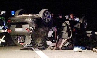 Mercedes Test Car Crashes In Germany, Kills One