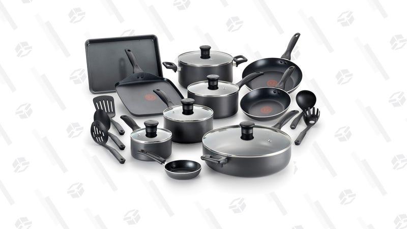 T-Fal Easy Care Non-Stick Dishwasher Safe Cookware Set | $60 | Walmart