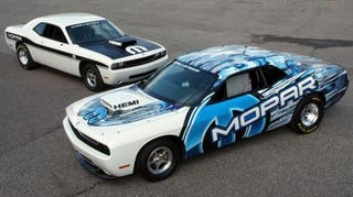 Illustration for article titled Dodge Challenger Super Stock Drag Package Available For Order...If You're Man Enough
