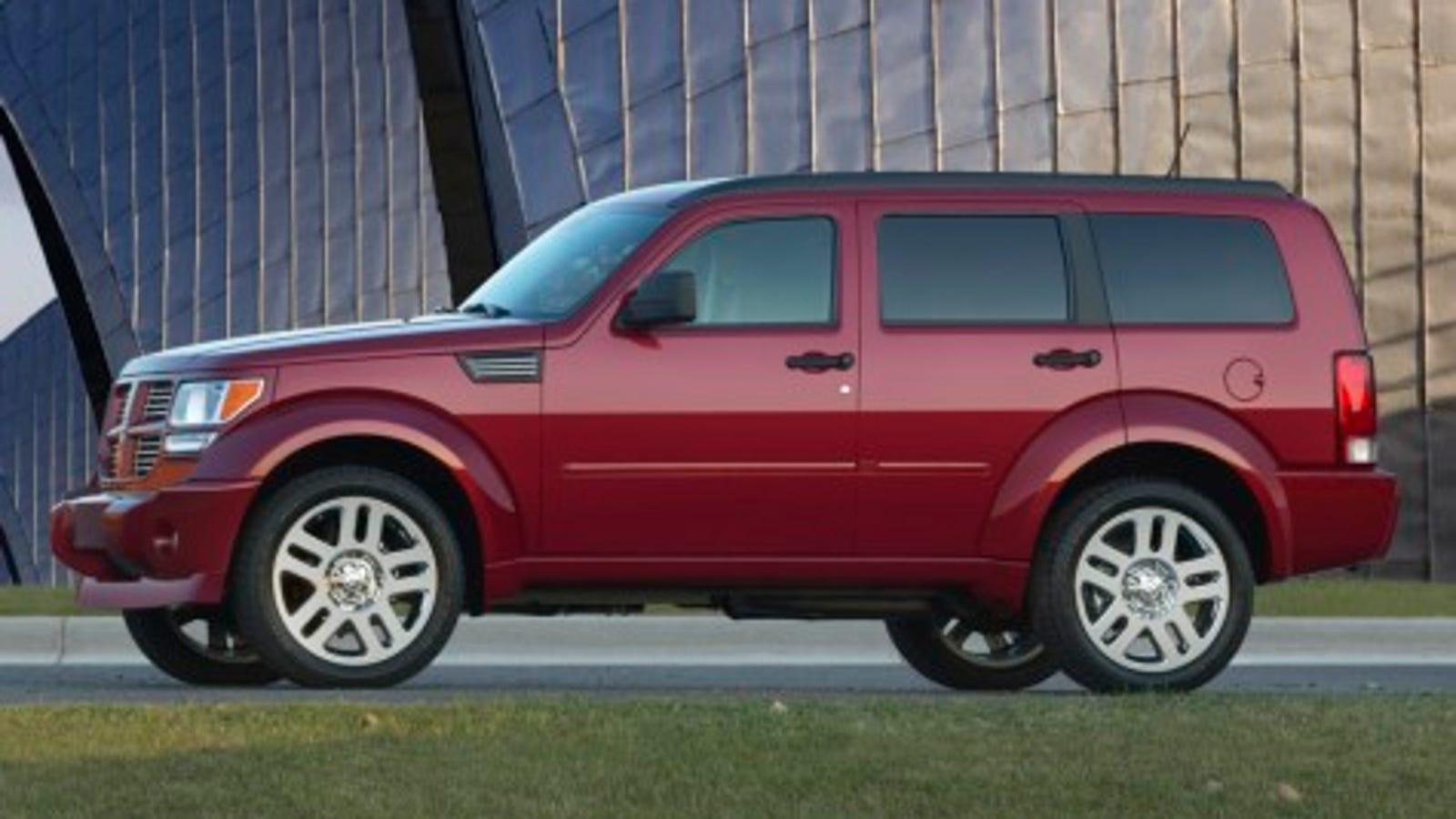 Jalopnik Reviews 2007 Dodge Nitro R T 2wd Part 2
