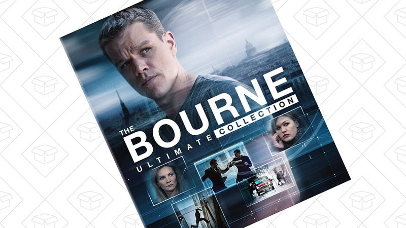 The Bourne Ultimate Collection [Blu-ray] | $30 | Amazon