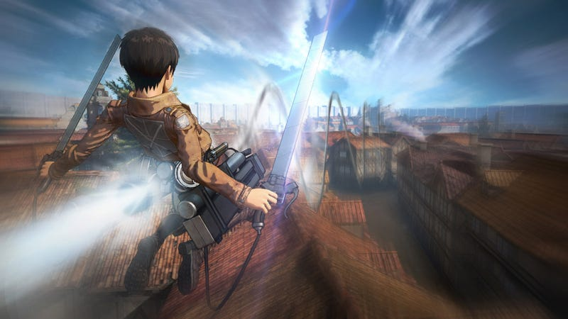 Illustration for article titled Next Attack on Titan Game Sounds Pretty Faithful