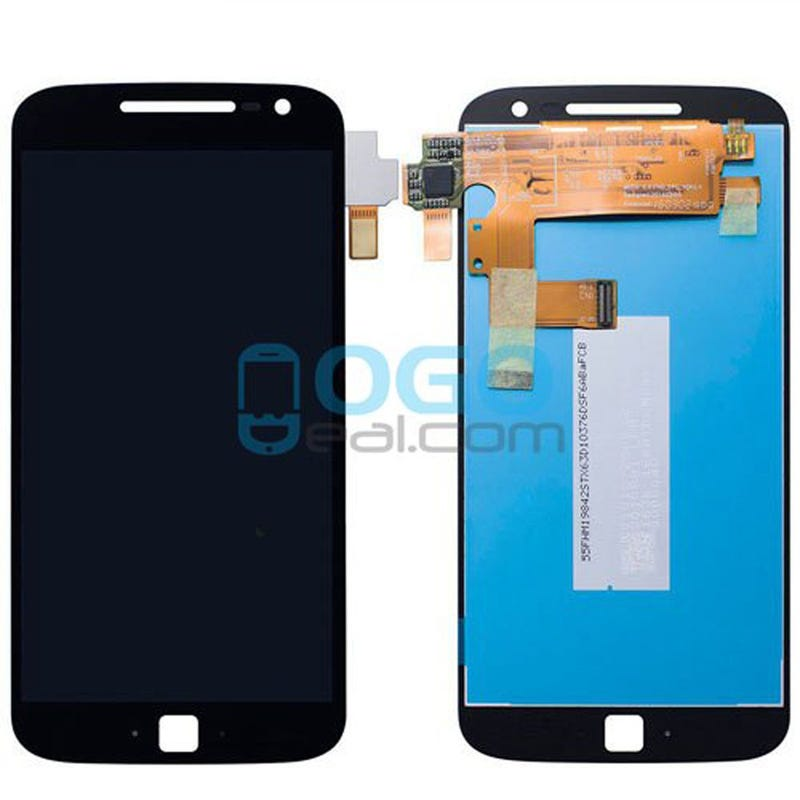 Illustration for article titled LCD & Digitizer Touch Screen Assembly Replacement for Motorola Moto G4 - Black