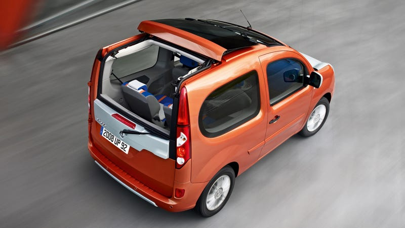 Illustration for article titled Renault's Kangoo Be Bop was a Funky French Envoy XUV