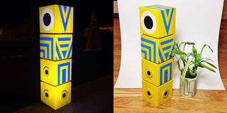 Illustration for article titled Homemade Totem From Monument Valley