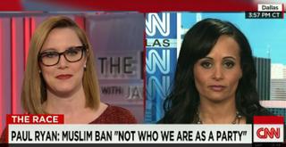 S.E. Cupp and Katrina Pierson on CNNCNN screenshot
