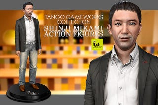 Illustration for article titled The Creator of Resident Evil Gets His Own Truly Bizarre Action Figure
