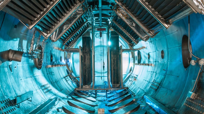 Illustration for article titled This Vacuum Chamber Looks Like Some Futuristic Spaceship Corridor
