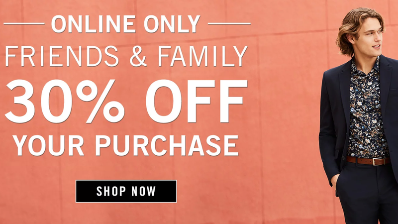 30% Off Sitewide, Plus an Extra 15% Off | Perry Ellis | Promo code AFFILIATE15 (use code FREESHIPPING for free shipping)