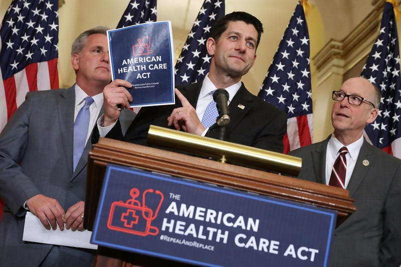 Speaker of the House Paul Ryan (R-Wis.), center (Chuck Somodevilla/Getty Images)
