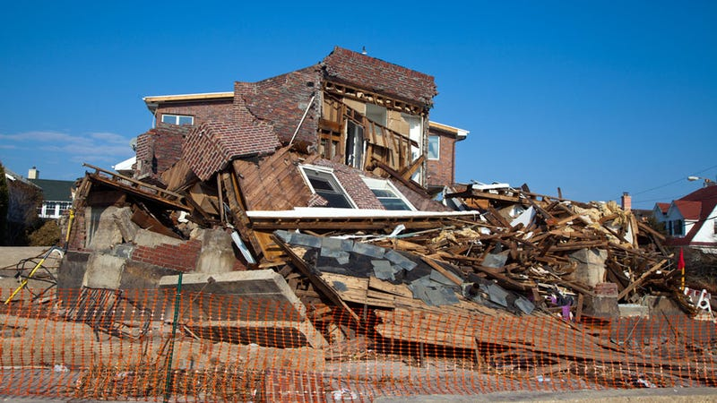 Demolition Wrong House : A crew demolished the wrong house two different times