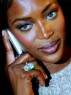 Illustration for article titled What Sort Of Gadget Should Naomi Campbell Attack With Next?