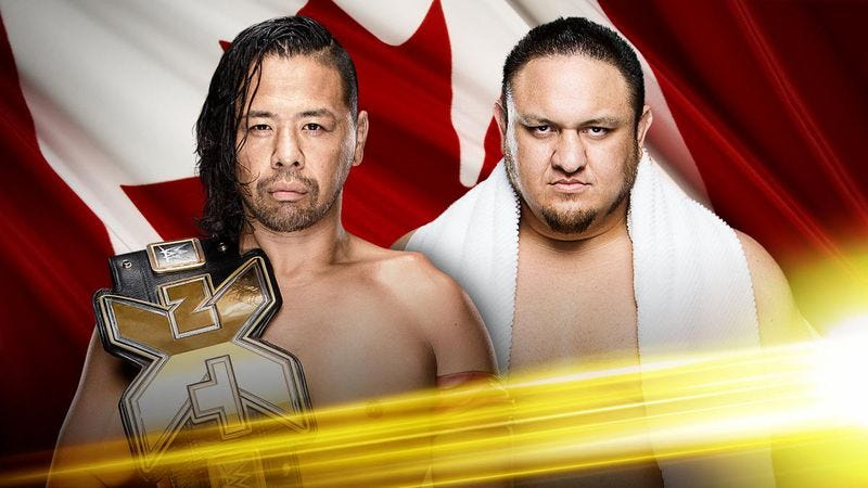Illustration for article titled NXT TakeOver: Toronto shows what a perfectly paced wrestling card looks like