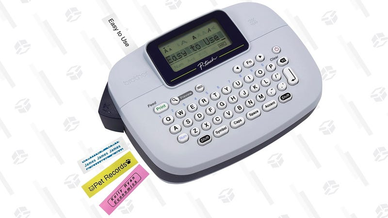 Brother P-touch, PTM95, Handy Label Maker | $10 | Amazon