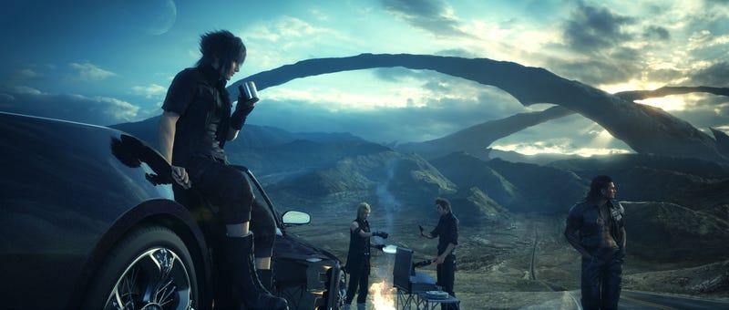 Illustration for article titled Así jugaremos a Final Fantasy XV