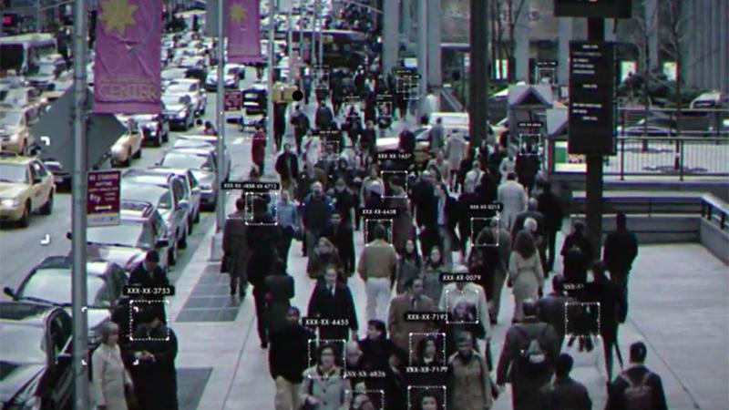 A demonstration of Cloudwalk's facial recognition technology. (Screenshot: Cloudwalk)
