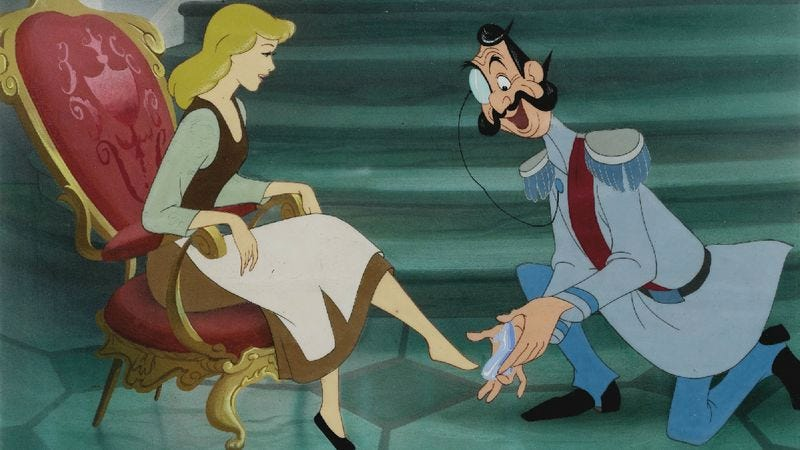 You have to try on a lot of shoes, kiss a lot of frogs, etc., before finding your prince