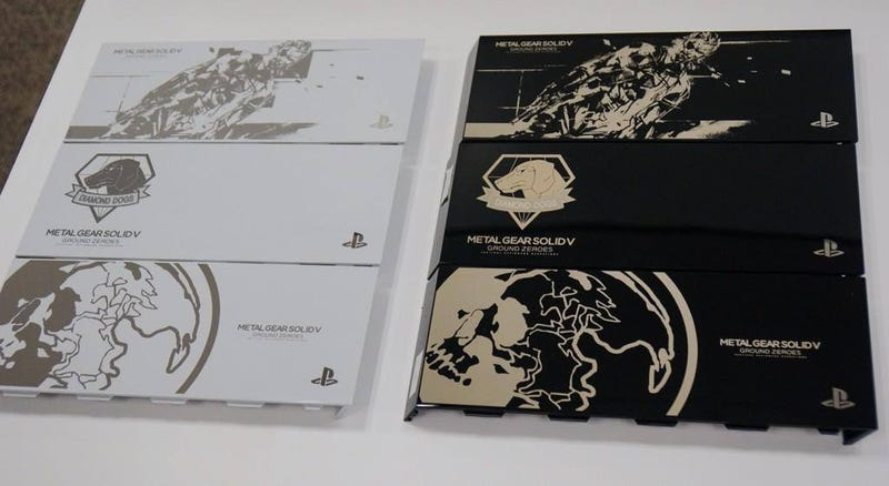 Illustration for article titled Metal Gear Solid PS4 Faceplate