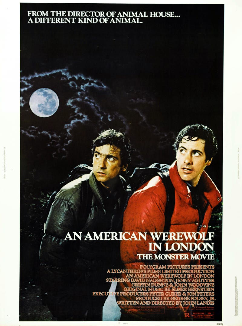 Illustration for article titled Your (Weekly) Oscar Season Movie Guide to Movies You Should Watch Again: An American Werewolf in London