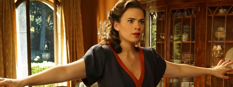 Illustration for article titled Agent Carter S2E4 Megathread: Smoke and Mirrors and Mysterious Alliances, Oh My!
