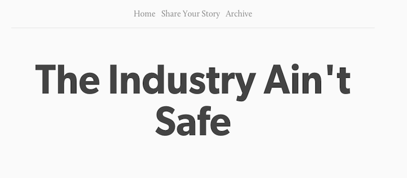 Illustration for article titled Woman Creates Anonymous Tumblr for Stories of Sexual Abuse in the Music Industry