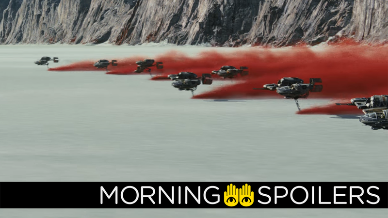 Illustration for article titled New Details on a Wild Chase Scene in Star Wars: The Last Jedi