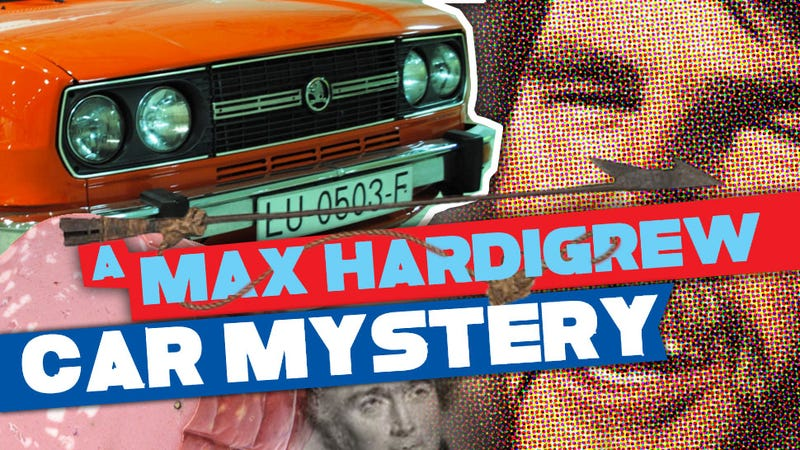 Illustration for article titled Max Hardigrew Car Mystery Volume 2: TheŠkoda And TheHarpoonedQuaker