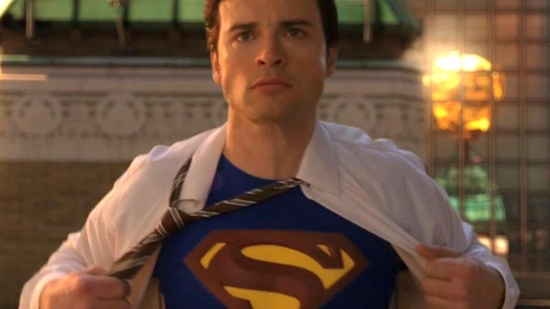 Tom Welling as Superman.
