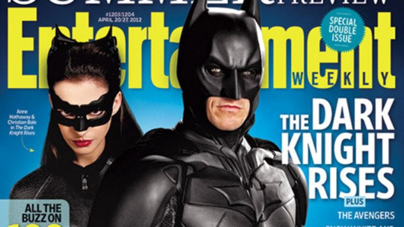 Illustration for article titled Anne Hathaway's new Catwoman photo has plenty of leather, some sensuality