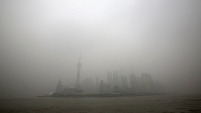 Illustration for article titled China Suggests Its Smog Problem Is Actually Good for National Defense