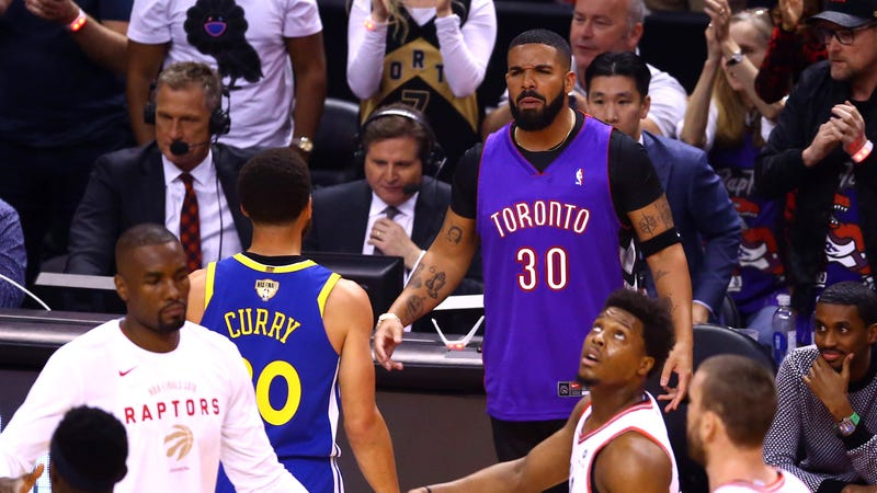 c2b8477d40b Drake Tries Very Hard To Pretend He Doesn't Have Steph Curry And Kevin  Durant's Jersey Numbers Tattooed On His Body