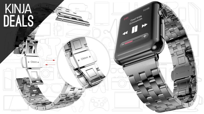 Illustration for article titled Accessorize Your Apple Watch With a $25 Metal Band