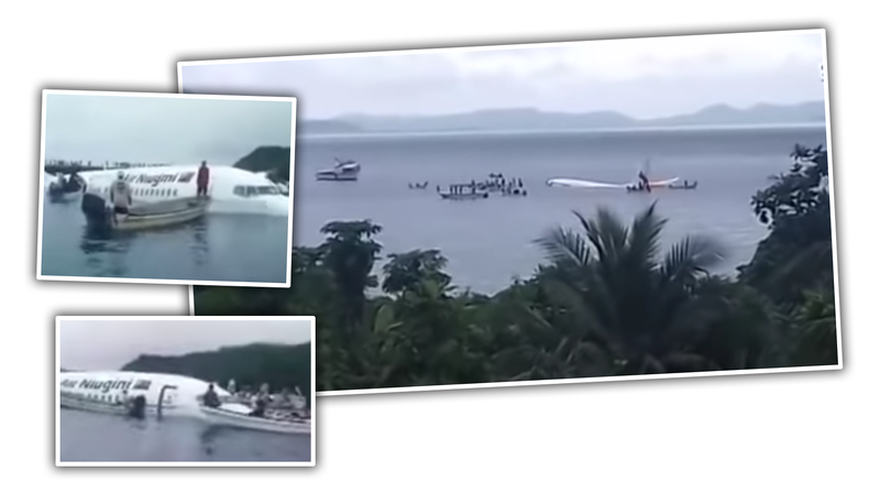 Illustration for article titled Local Boaters in Micronesia Save All Passengers From Plane Crash