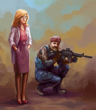 Illustration for article titled Capt. Mario Answers The Call Of Duty