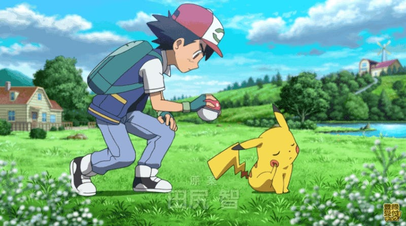 The New Pokémon Movie Shows How Ash And Pikachu Became Friends