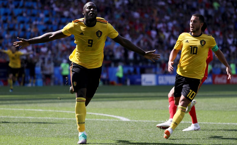 Illustration for article titled Eden Hazard And Romelu Lukaku Have Belgium Cooking With Gas