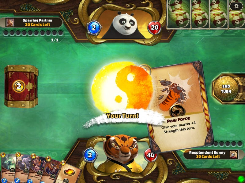Illustration for article titled It's Hearthstone, Only With Kung Fu Panda