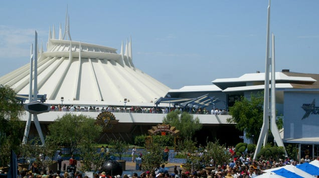 Disney Is Developing a Space Mountain Movie, Which Was Probably Inevitable